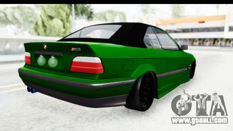 BMW M3 E36 Sloboz Edition for GTA San Andreas left view