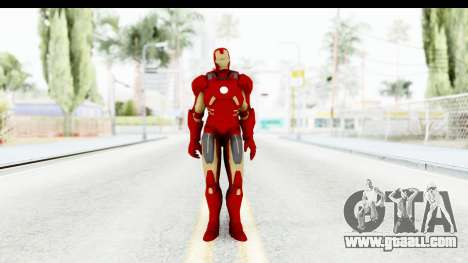 Marvel Heroes - Iron Man Mk7 for GTA San Andreas second screenshot