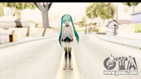 Miku Api Oufit v2.0 for GTA San Andreas second screenshot