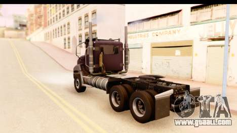 CAT CT 660 v1.0 for GTA San Andreas left view