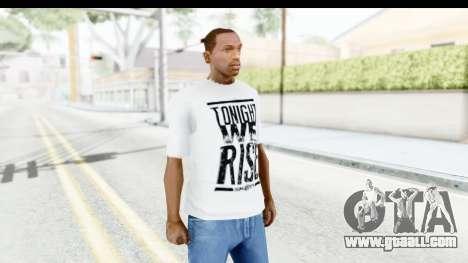 Skillet T-Shirt for GTA San Andreas second screenshot