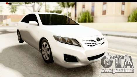 Toyota Camry GL 2011 for GTA San Andreas right view