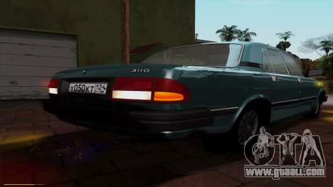 GAZ 3110 Volga for GTA San Andreas bottom view