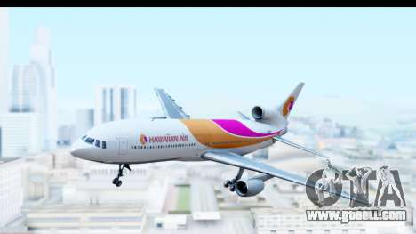 Lockheed L-1011-100 TriStar Hawaiian Airlines for GTA San Andreas back left view