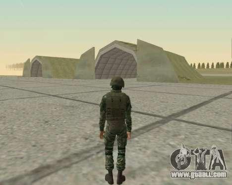 Pak fighters airborne for GTA San Andreas ninth screenshot