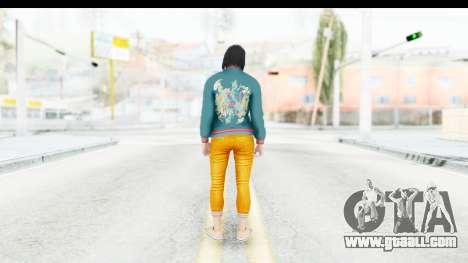 Cunning Stunts DLC Female Skin for GTA San Andreas third screenshot