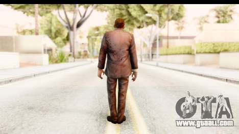 Left 4 Dead 2 - Zombie Suit for GTA San Andreas third screenshot