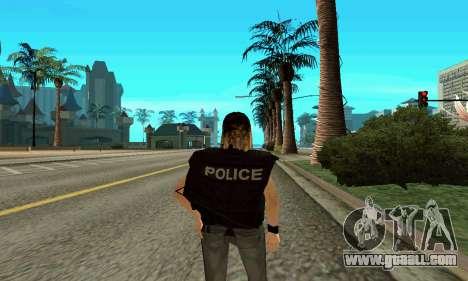 Female trainer SWAT for GTA San Andreas third screenshot
