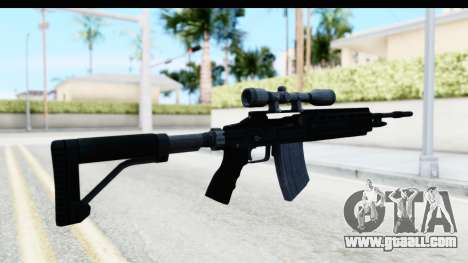 GTA 5 Vom Feuer Marksman Rifle for GTA San Andreas second screenshot