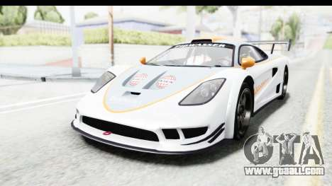 GTA 5 Progen Tyrus for GTA San Andreas upper view