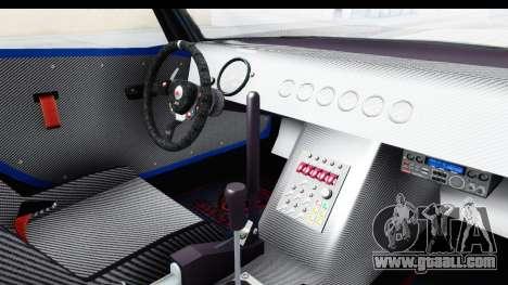 GTA 5 Bravado Banshee 900R Carbon Mip Map IVF for GTA San Andreas inner view