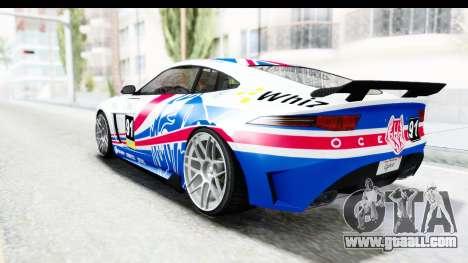 GTA 5 Ocelot Lynx SA Lights PJ for GTA San Andreas interior