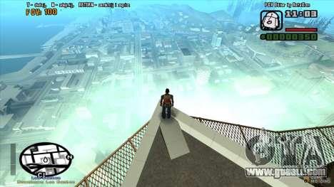 FOV Editor for GTA San Andreas