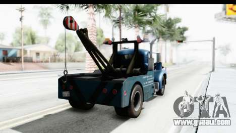 Mack B-61 1953 Towtruck v1 for GTA San Andreas left view