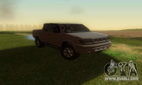 Nissan Frontier for GTA San Andreas right view