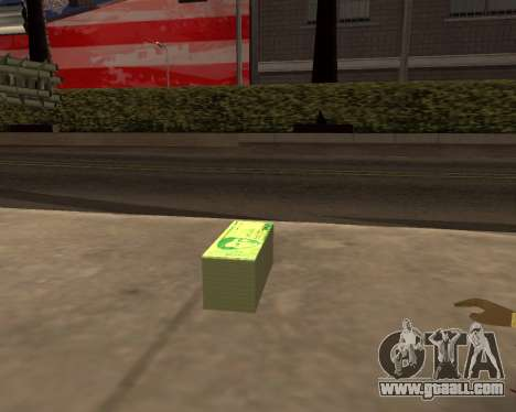 1000 Armenian Dram for GTA San Andreas second screenshot