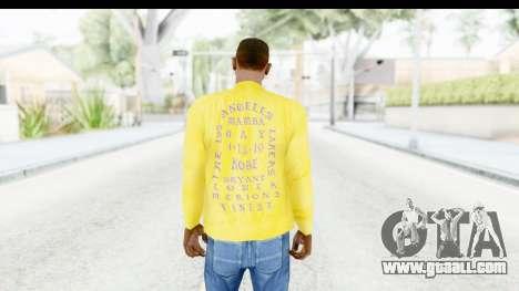 I Feel Like Kobe Sweatshirt for GTA San Andreas third screenshot