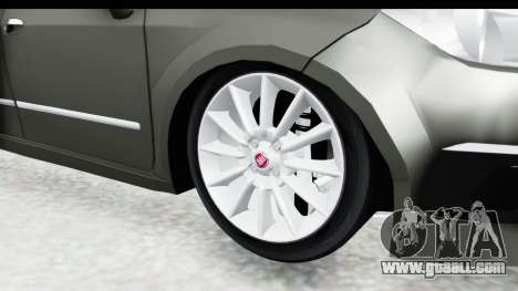 Fiat Linea 2015 v2 Wheels for GTA San Andreas back view