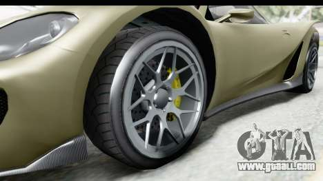 GTA 5 Pfister 811 IVF for GTA San Andreas back view