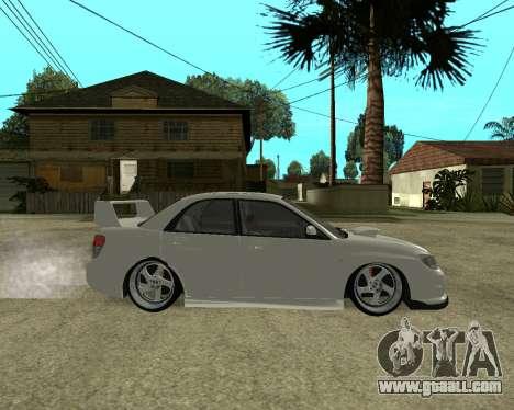 Subaru Impreza Armenian for GTA San Andreas wheels