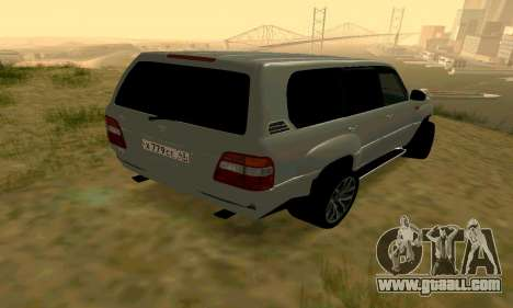 Toyota Land Cruiser 100 for GTA San Andreas right view