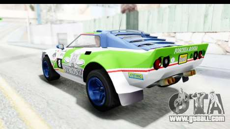 GTA 5 Lampadati Tropos Rallye No Headlights IVF for GTA San Andreas interior