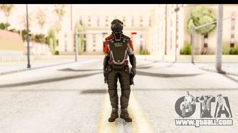 Homefront The Revolution - KPA v2 Captain for GTA San Andreas second screenshot