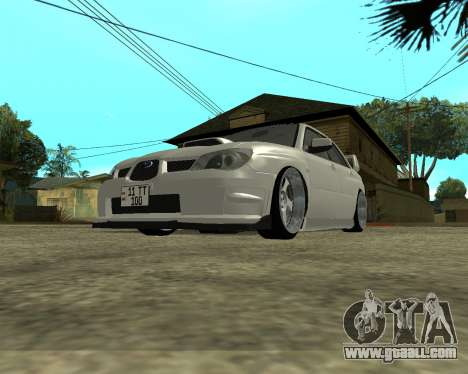 Subaru Impreza Armenian for GTA San Andreas