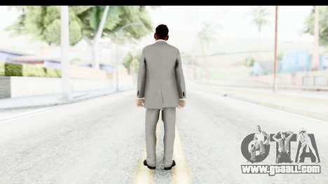 Messi Formal for GTA San Andreas third screenshot