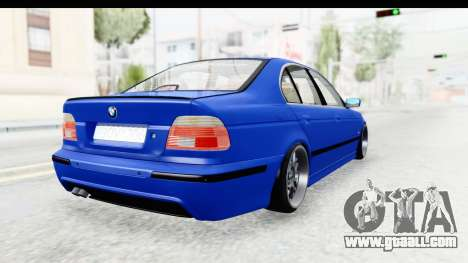 BMW 525i E39 M Tech for GTA San Andreas left view