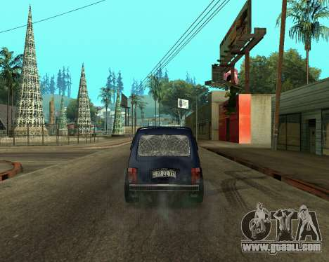 Niva 2121 Armenian for GTA San Andreas right view
