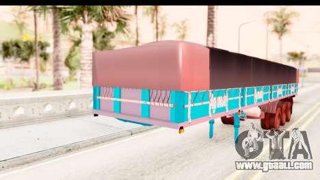 Trailer Brasil v4 for GTA San Andreas right view