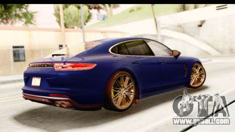 Porsche Panamera 4S 2017 v4 for GTA San Andreas left view