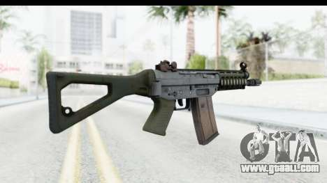 SG553 for GTA San Andreas second screenshot