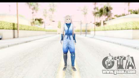 DoA 5: LR - Marie Rose Ninja for GTA San Andreas second screenshot