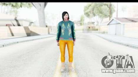Cunning Stunts DLC Female Skin for GTA San Andreas second screenshot