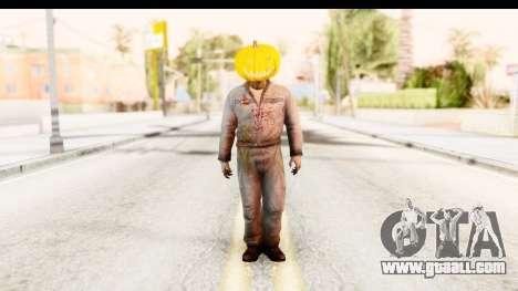 Left 4 Dead 2 - Zombie Pumpkin for GTA San Andreas second screenshot