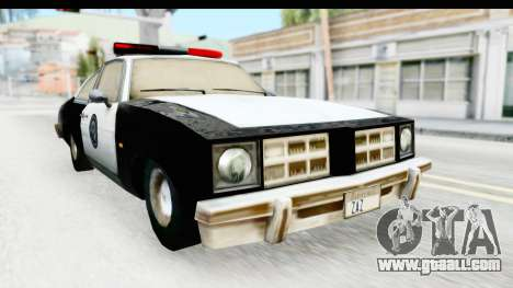 Pontiac Ventura LSPD from Silent Hill 2 for GTA San Andreas