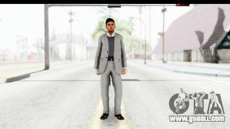 Messi Formal for GTA San Andreas second screenshot