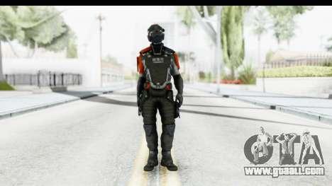 Homefront The Revolution - KPA v5 Captain for GTA San Andreas second screenshot