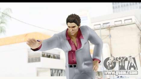 Yakuza 5 Kazuma Kiryu for GTA San Andreas