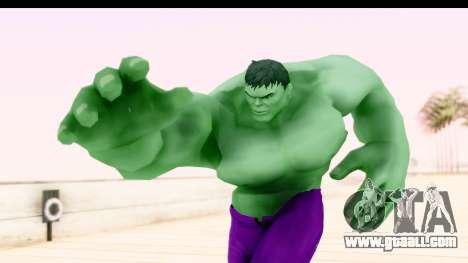 Marvel Heroes - Hulk for GTA San Andreas