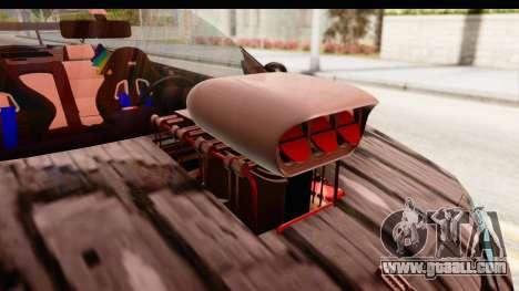 Renault Megane Spyder Full Tuning v2 for GTA San Andreas inner view