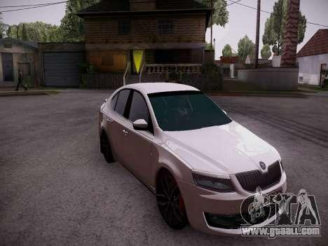 Skoda Octavia A7 R for GTA San Andreas