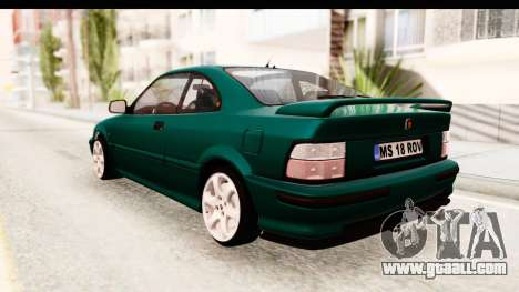 Rover 220 for GTA San Andreas back left view