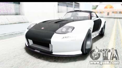 GTA 5 Bravado Banshee 900R Carbon Mip Map for GTA San Andreas upper view