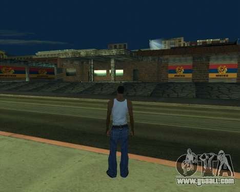 New garage Armenia for GTA San Andreas second screenshot