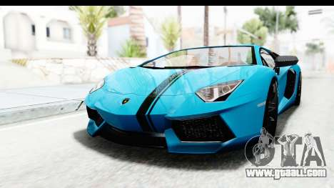 Lamborghini Aventador LP700-4 2012 for GTA San Andreas