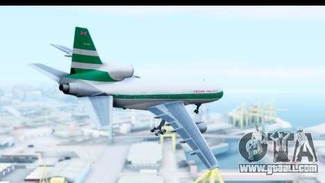 Lockheed L-1011-100 TriStar Cathay Pacific Air for GTA San Andreas right view