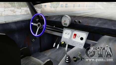 IZH Combi v2 for GTA San Andreas inner view